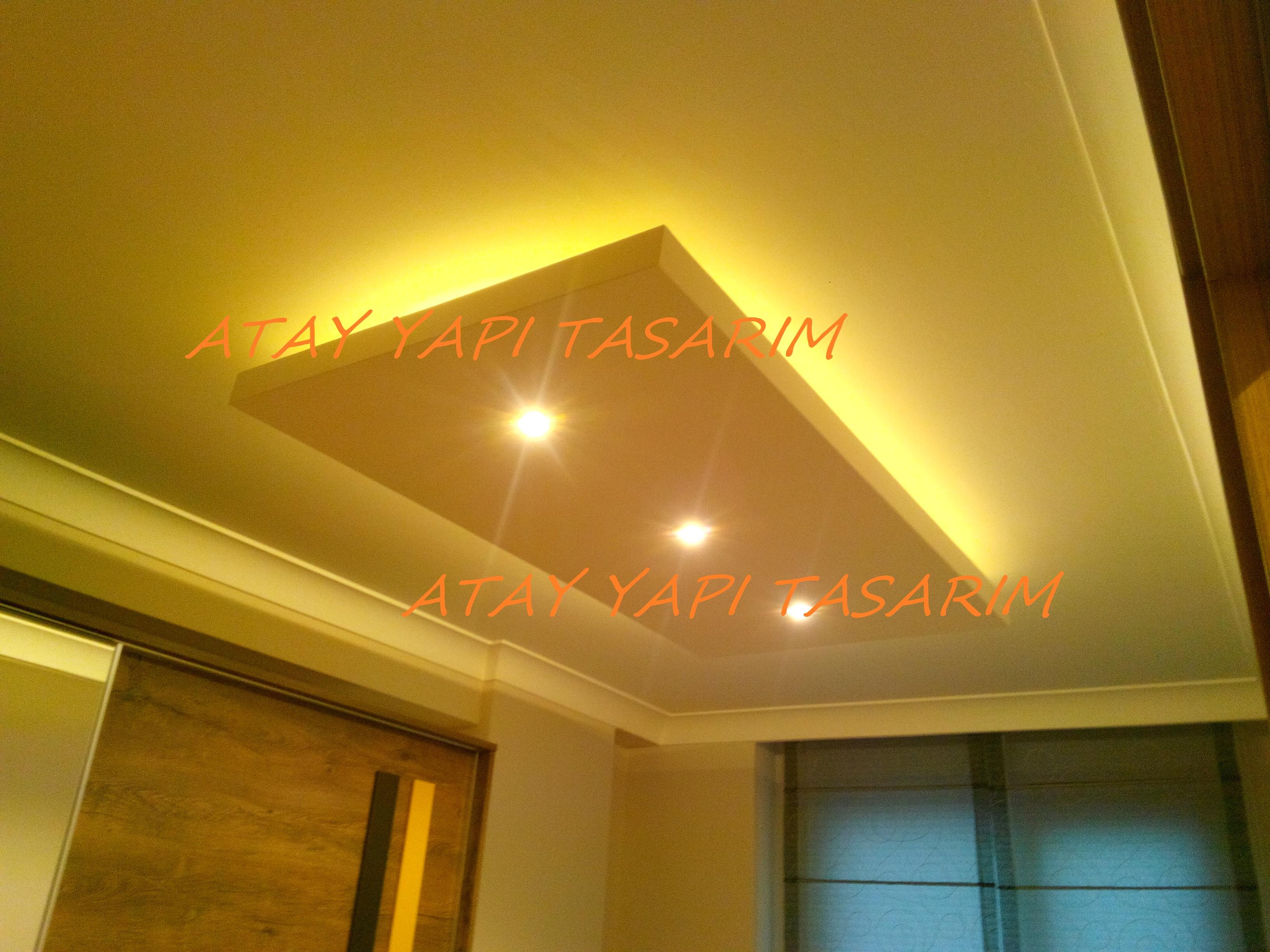 led spot kl kartonpiyer asma tavan dekorasyon. Black Bedroom Furniture Sets. Home Design Ideas