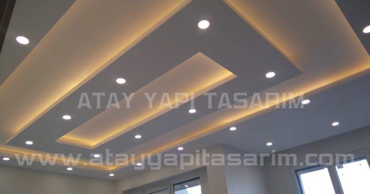 Asma Tavan Modelleri Ev için