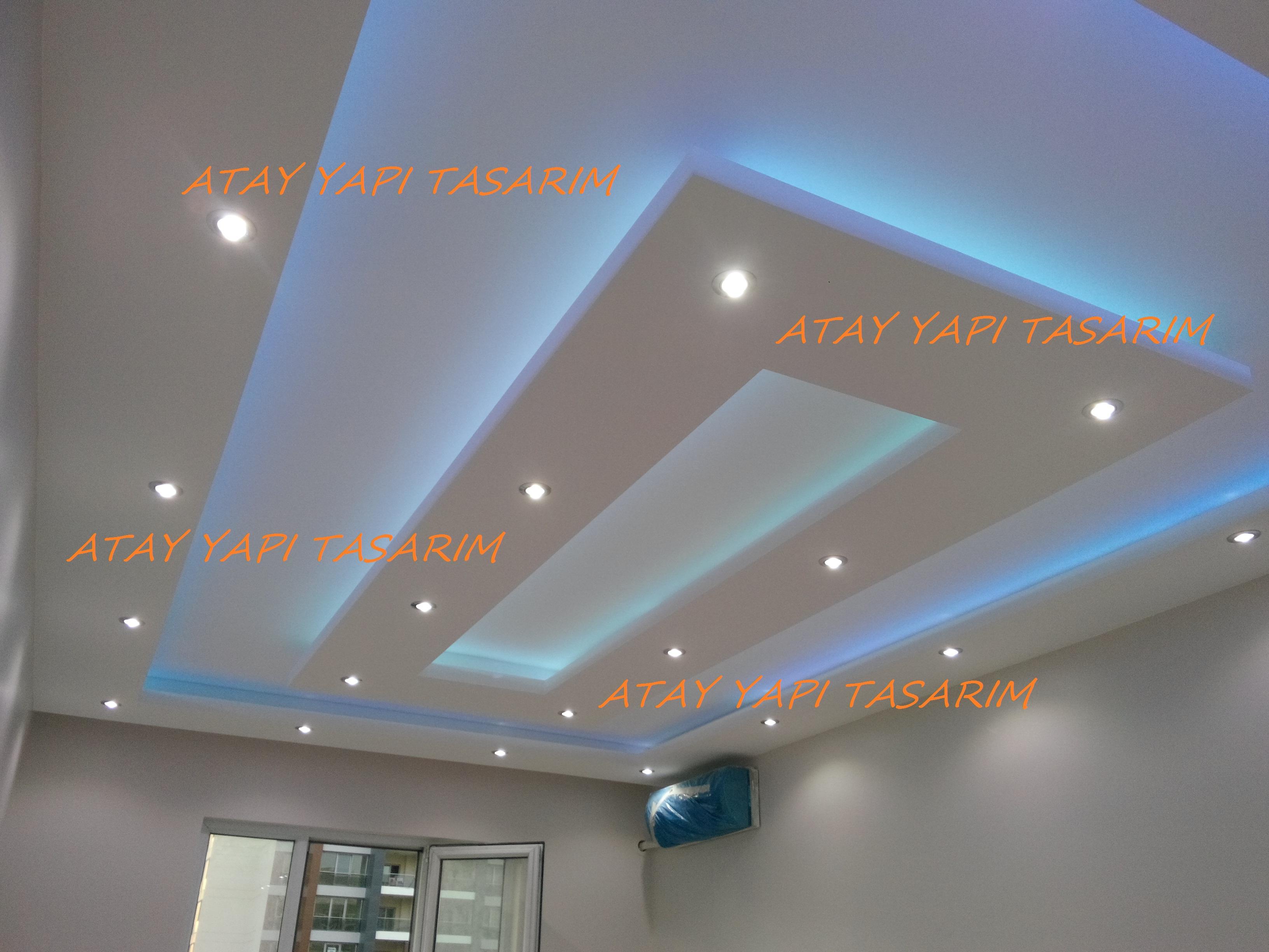 Asma tavan modern resimli isikli ev dekorasyon fikirleri - Al Pan Asma Tavan Modelleri Detaylar Rnekleri Resimleri E Itleri Izimleri Gizli Kl Asma Tavan Modelleri Ayd Nlatmal Led Tavan Letli Tavan Led