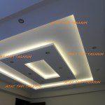 Asma Tavan Modelleri,Salon,Oturma Odası,Led,Ev için Asma Tavan,5