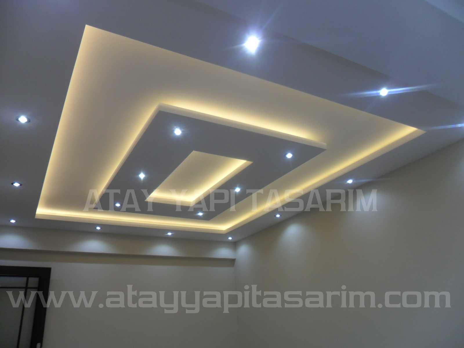 Salon Asma Tavan Modelleri
