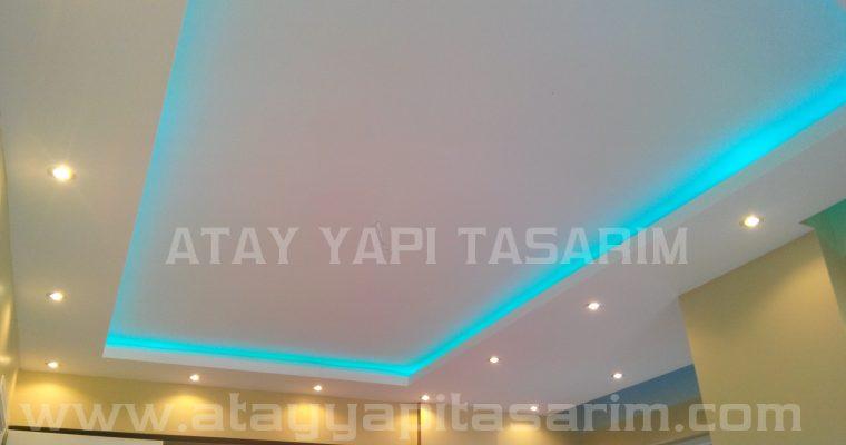 Asma Tavan Dekorasyon Modelleri